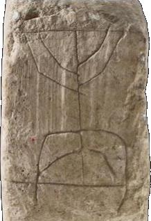 Stone lamp/Menorah